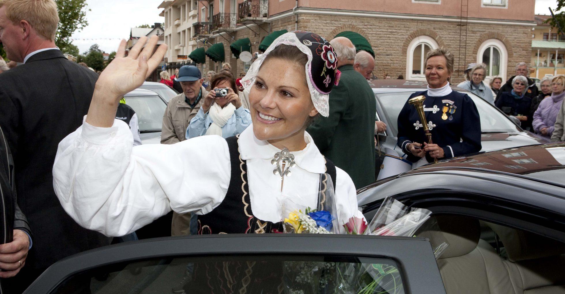 Victoria firade Västergötland utan sin Daniel