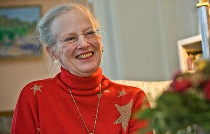 """Drottning Margrethe älskar att pynta på Marselisborg, danska kungafamiljens """"julslott""""."""