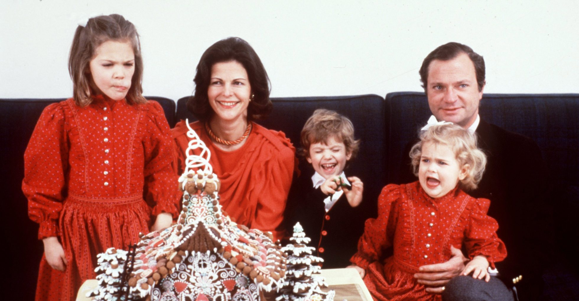 Kungligt inslag på julbordet