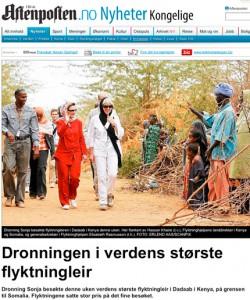 4406dca948c9 Drottning Sonjas besök i världens största flyktingläger | Svensk ...