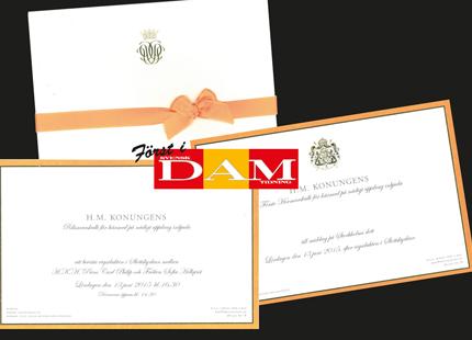 b0a0c96b0eec Exklusivt för Svenskt Damtidning – nu kan vi visa hur inbjudan till prins  Carl Philips och Sofia Hellqvists vigsel ser ut!