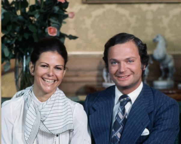 40 år sedan 40 år sedan förlovningen – så var det | Svensk Damtidning 40 år sedan