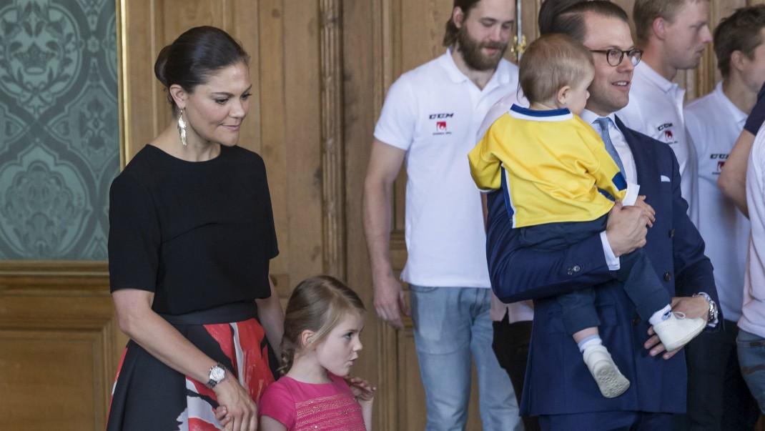 Victorias och Daniels knep med barnen - upprepade succén