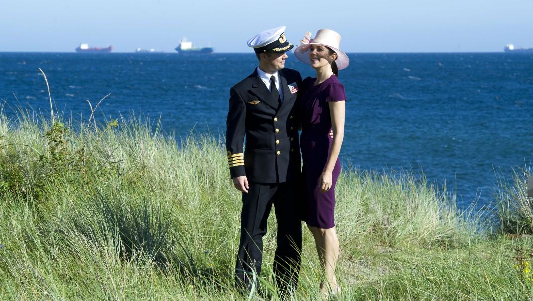 Hit reser kungligheterna: Skagen i Danmark