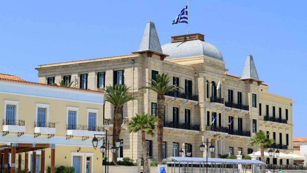 Hit reser kungligheterna: Spetses i Grekland