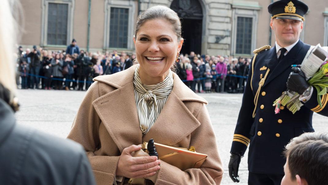 Victoria i fin kjol från HM | Kungliga modebloggen