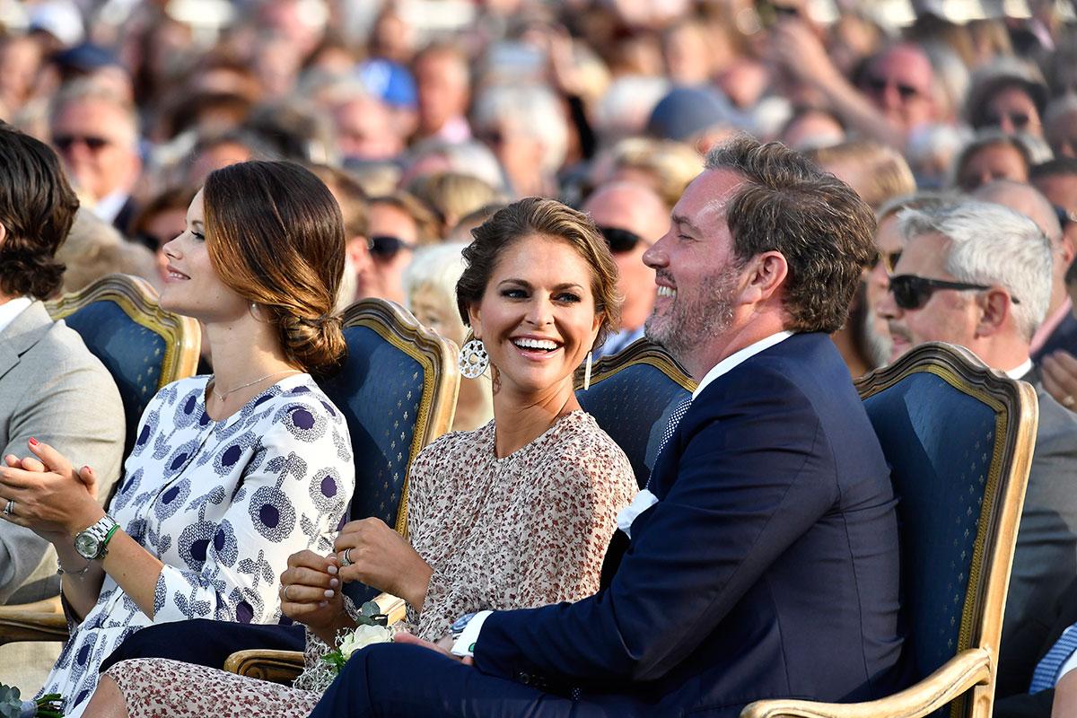 Prinsessan Sofia, Prinsessan Madeleine och Chris O'Neill.