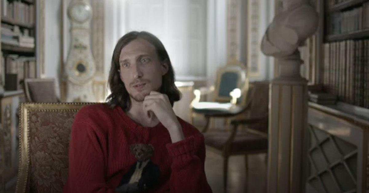 Charles-Louis d'Otrante bjuder in rappare till slottet