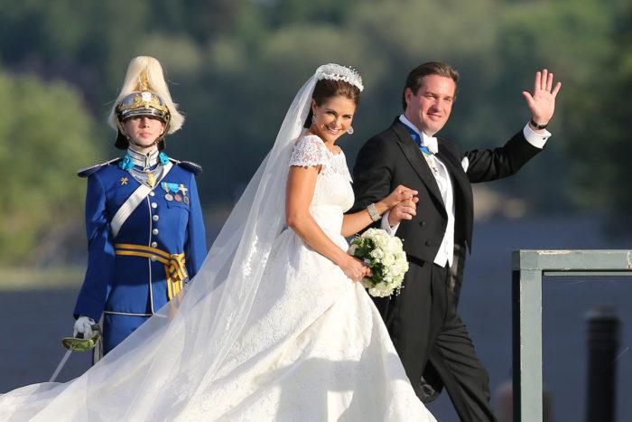Prinsessan Madeleine och Christopher O'Neills bröllop 2015
