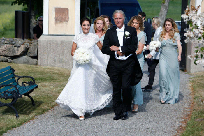 Swedish Royal Family Attended Louise Gottlieb S Wedding