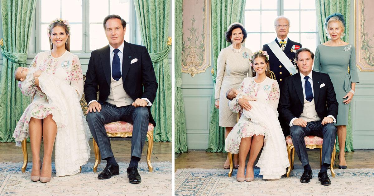 Se prinsessan Adriennes officiella dopbilder