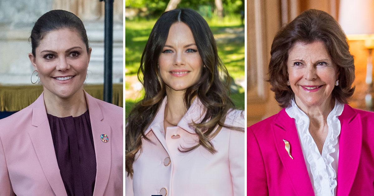 Sommarens trendfärg som alla kungligheterna väljer   Svensk Dam