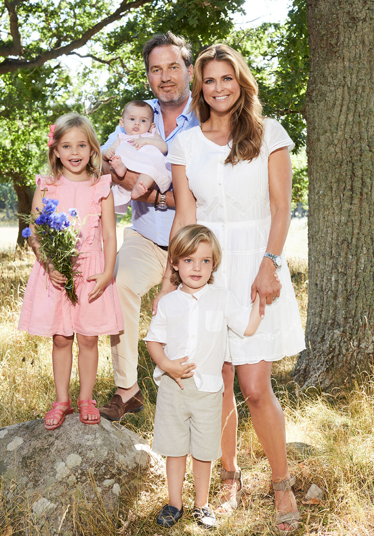 Prinsessan Madeleine och Chris O Neill samt barnen Leonore ffba3f3ef4ac7
