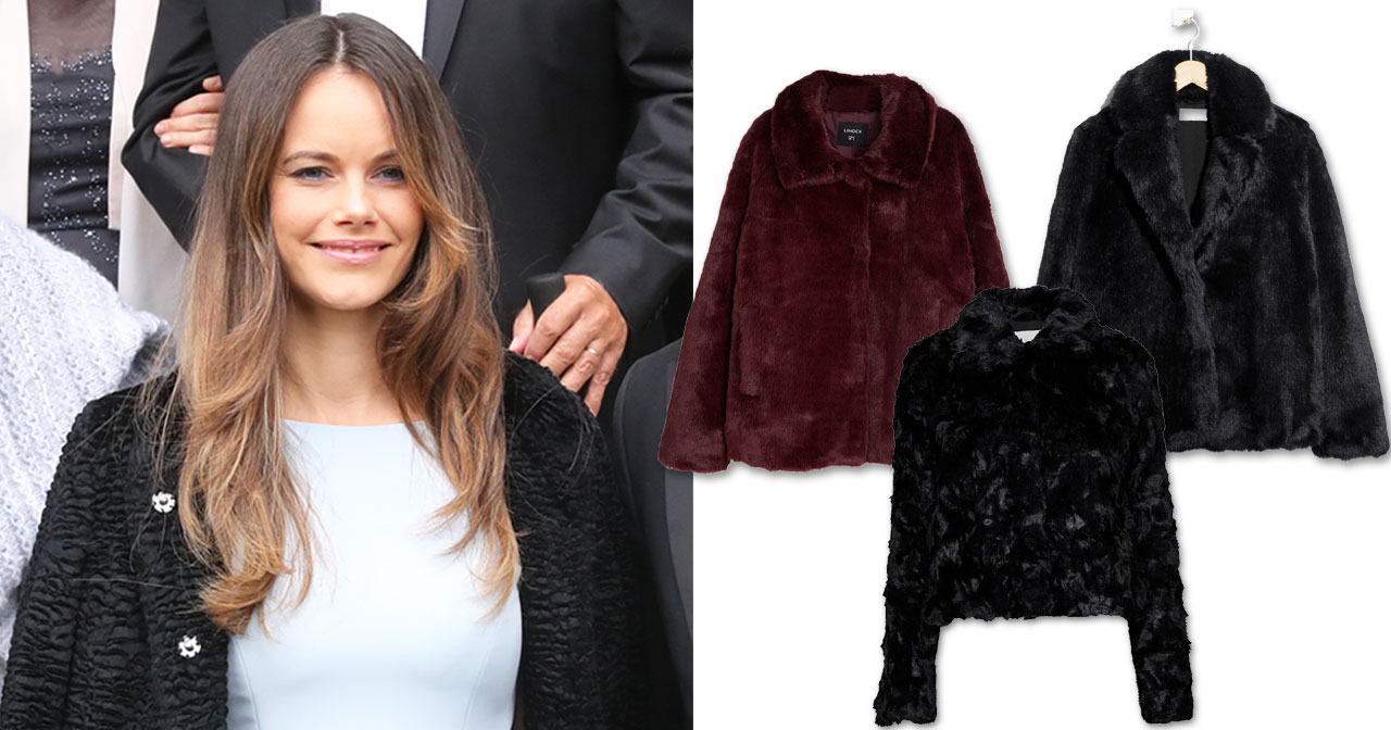 7 jackor i fuskpäls som liknar Sofias | Kungliga modebloggen