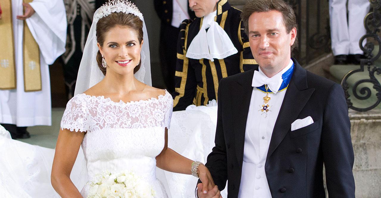 Prinsessan Madeliene och Chris O'Neill gifter sig