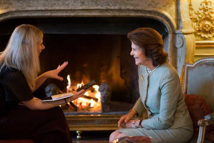 Интервью королевы Сильвии Шведскому телеграфному агентству