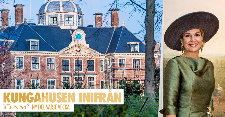 Kika in hemma hos drottning Máxima – efter renoveringen av Huis ten Bosch
