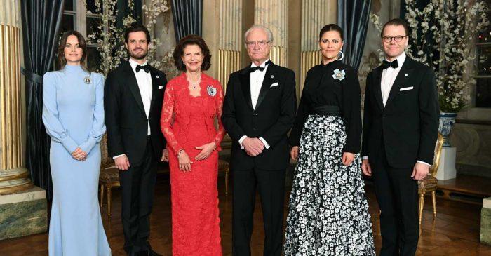 Kungafamiljen var på plats, de enda som fattades var självklart prinsessan Madeleine och Chris O'Neill.