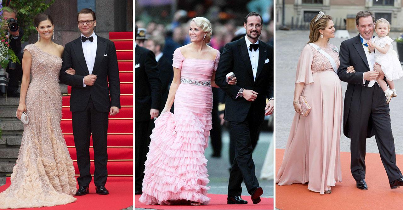 Rosa klänningar