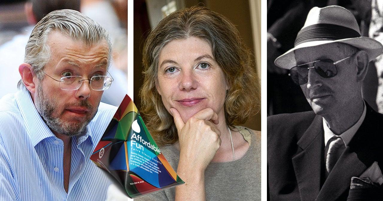 Hans Kristian Rausing, Sigrid Rausing och Sven Rausing ingår i Rausing-släkten som skapade Tetra Pak