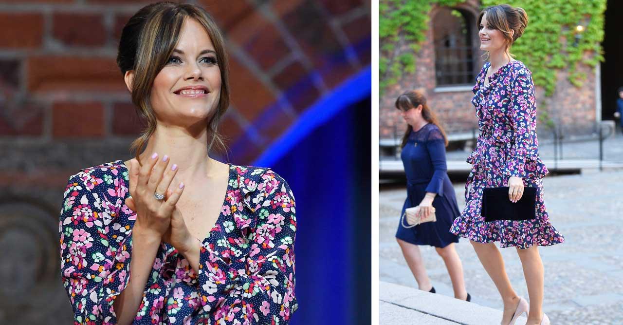 Prinsessan Sofias blommiga sommarklänning – därifrån kommer