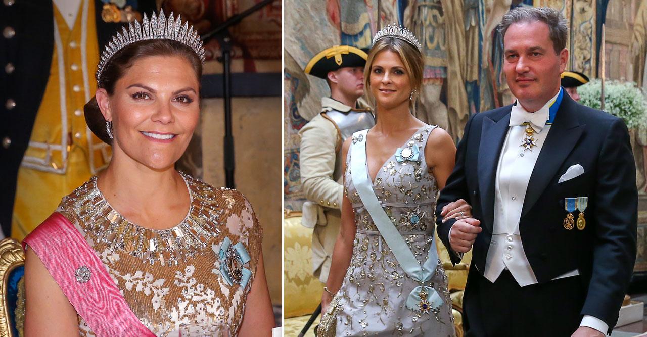 prinsessan madeleine kronprinsessan victoria