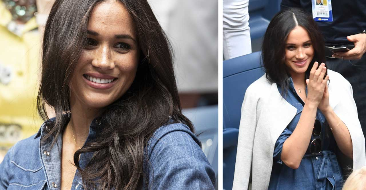 Meghan Markle på US Open