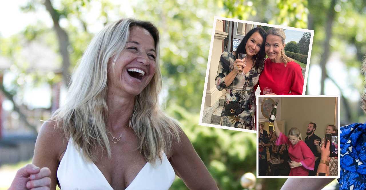 Kristin Kaspersens 50-årsfest – hyllades i Lill-Babs anda