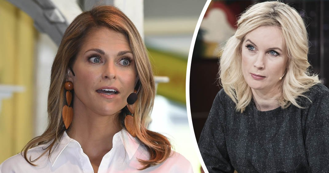 Jenny Strömstedt påhoppad i Nyhetsmorgon