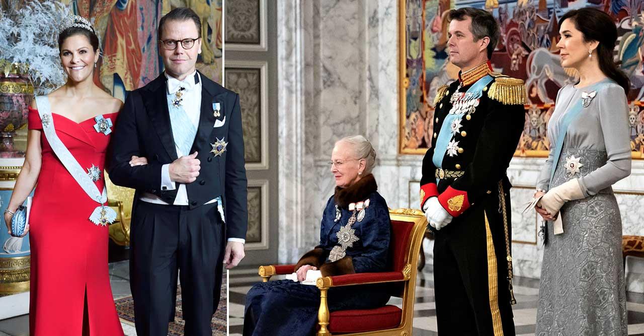 Stora frågan inför Victorias och Daniels besök: Var är Margrethe?