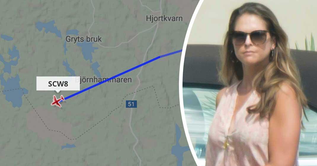Madeleines kaos på Bokmässan –fast med flyget