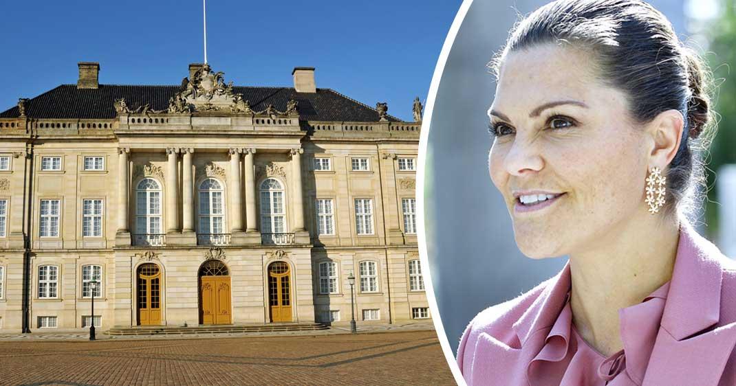 Så bor Victoria och Daniel i palatset under Danmarksbesöket