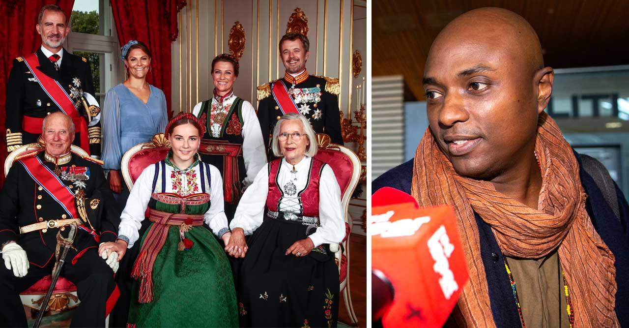 Schamanen Durek Verrett avslöjar varför han missade prinsessan Ingrid Alexandras konfirmation.