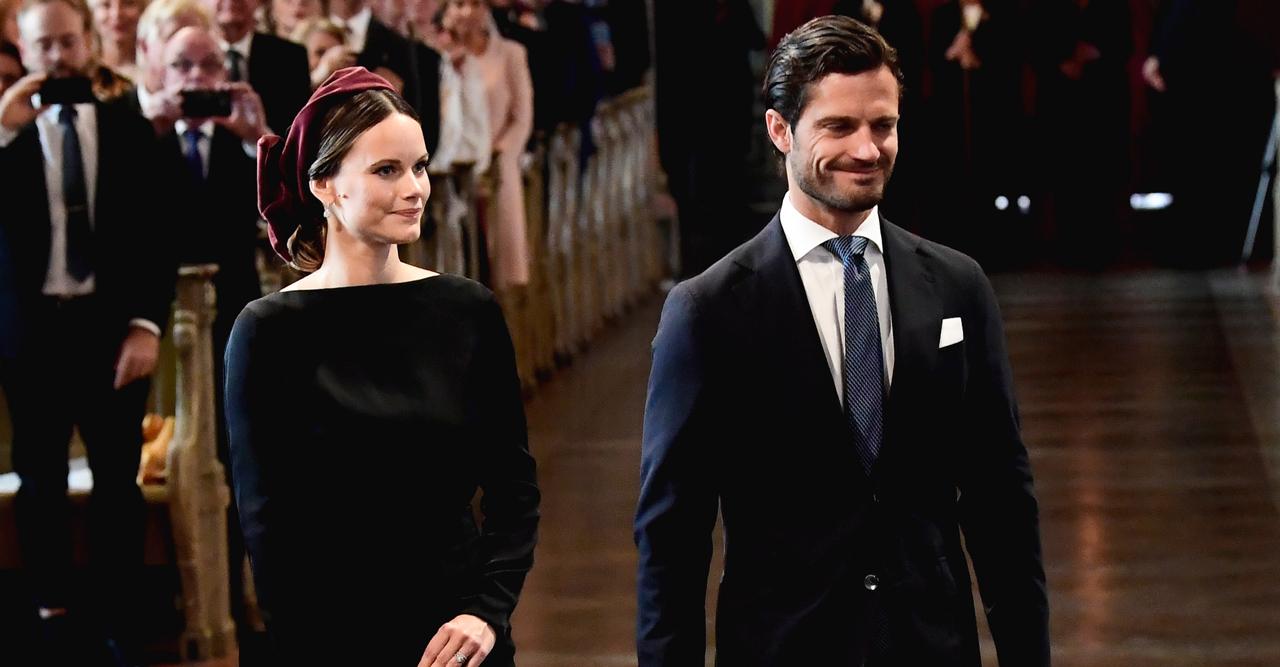 Prinsessan Sofias kungliga comeback vid riksmötet