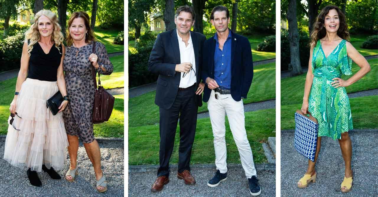 Kändisarna som blev inbjudna till privata Bonnier-festen
