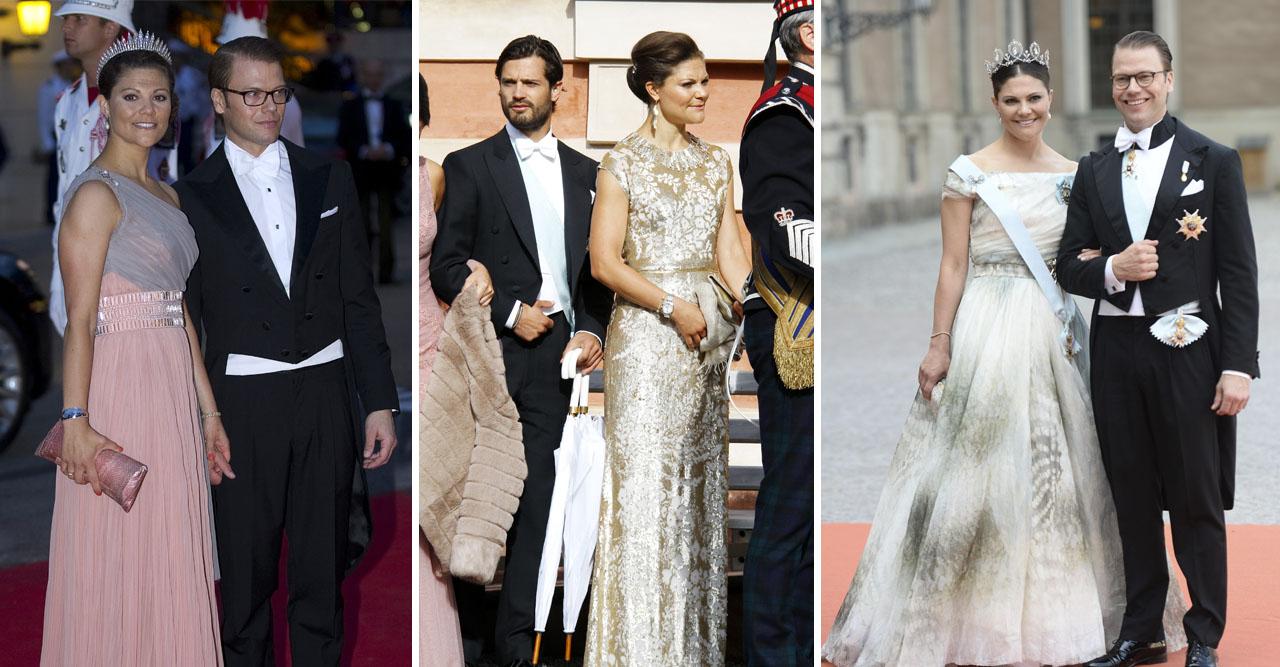 Bildextra! Spana in Victorias bröllopslooks genom åren