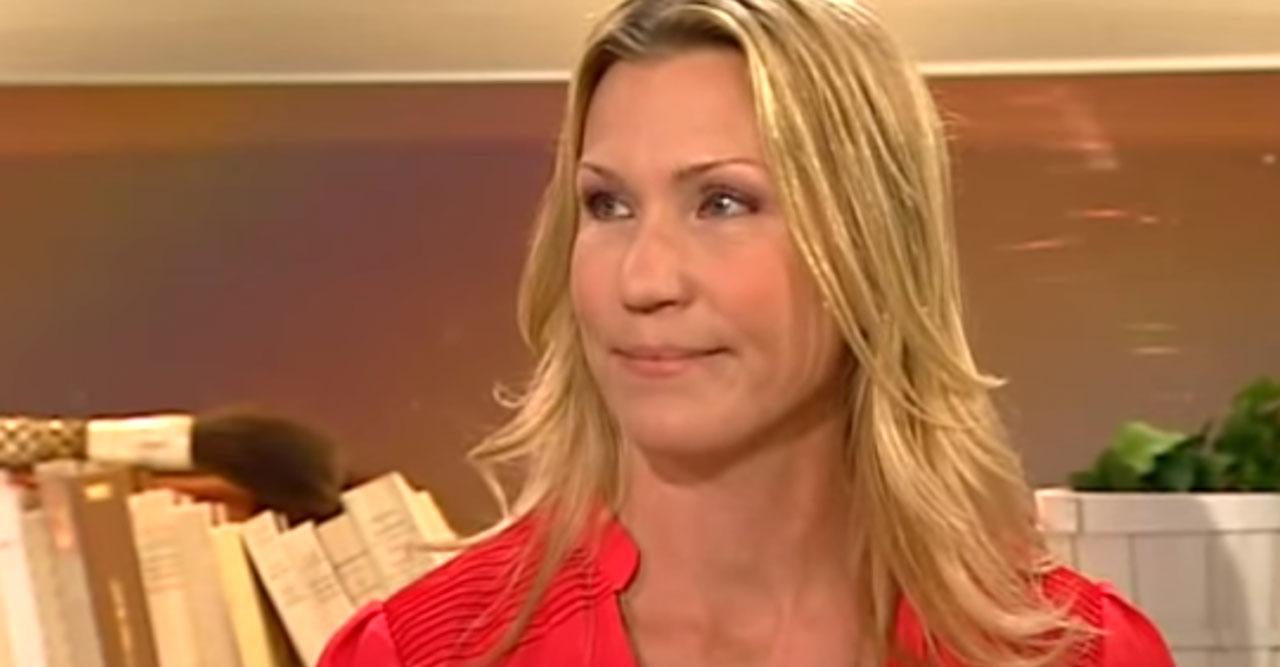 Jenny Alversjö drabbad av stroke