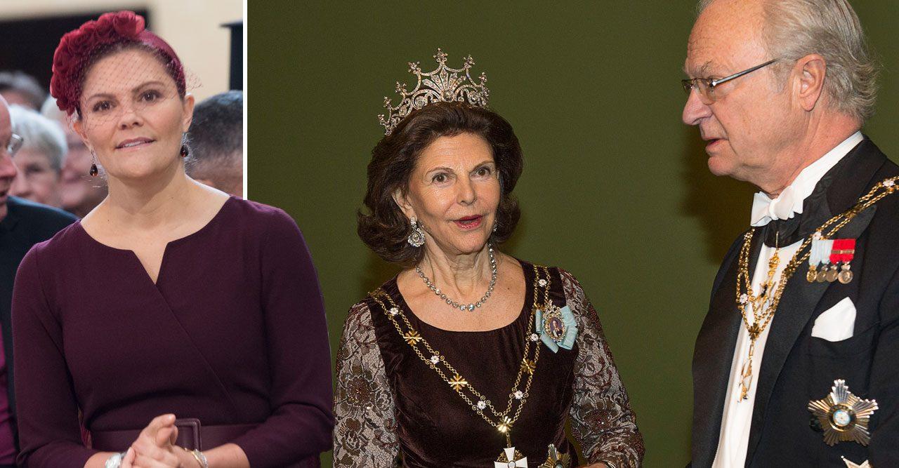 kung carl gustaf tar bort titlar kronprinsessan victoria