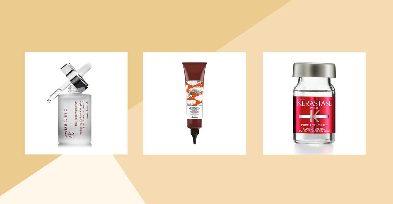 Produkter mot håravfall och tunt hår