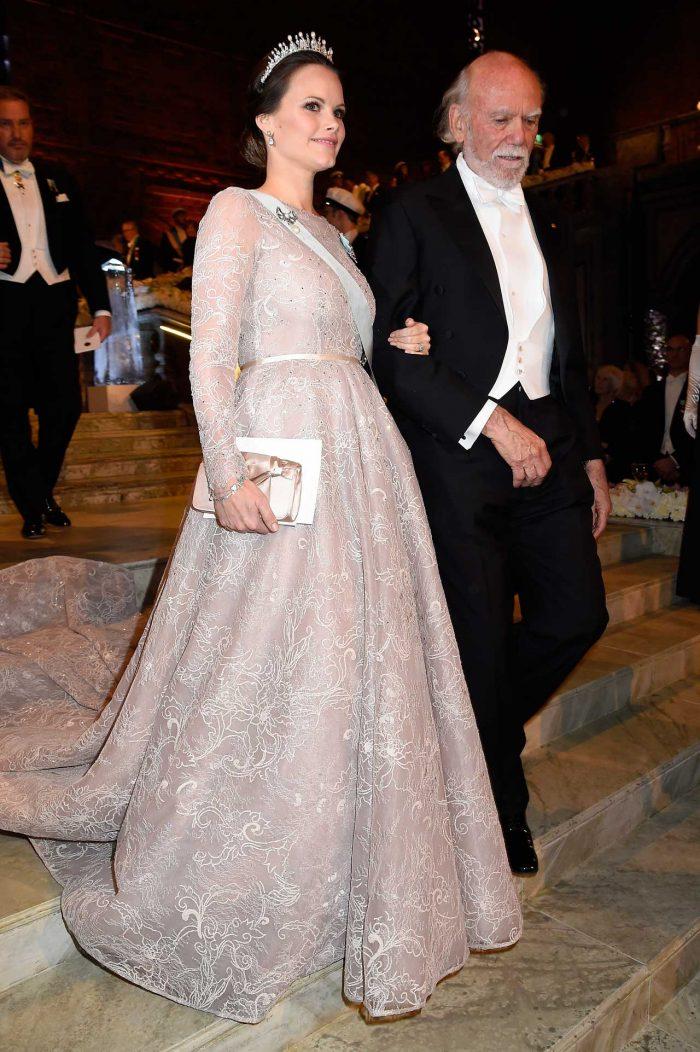 Prinsessan Sofia Nobelklänning 2017.