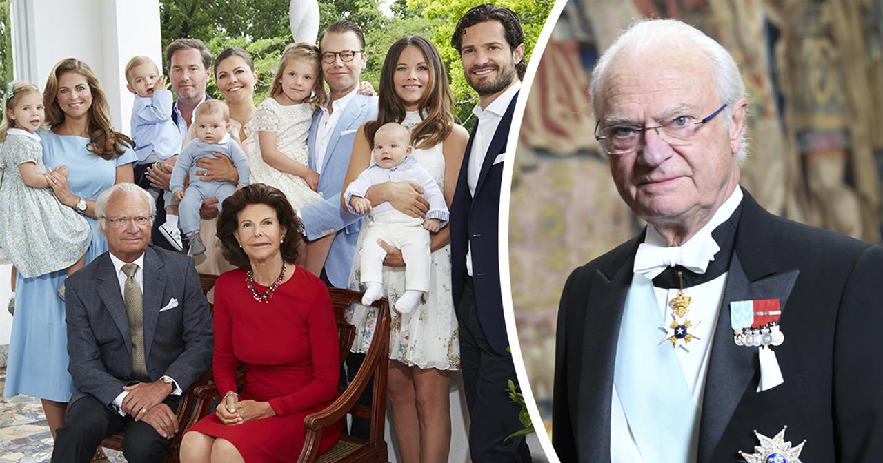 kungens krav på familjen inför drottning silvias födelsedag
