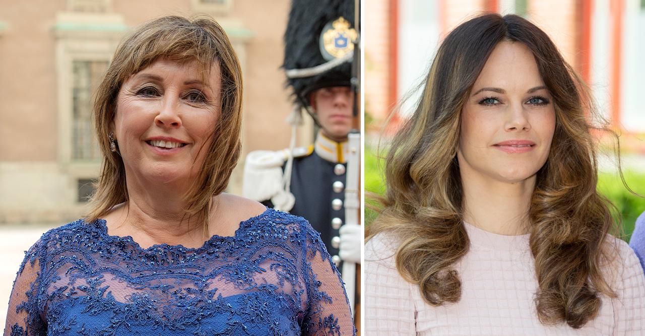 mamma maries stöd till prinsessan sofia