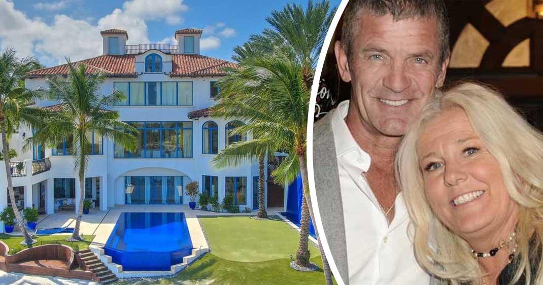 Familjen Parnevik säljer lyxvillan i Florida – för galna utgångspriset