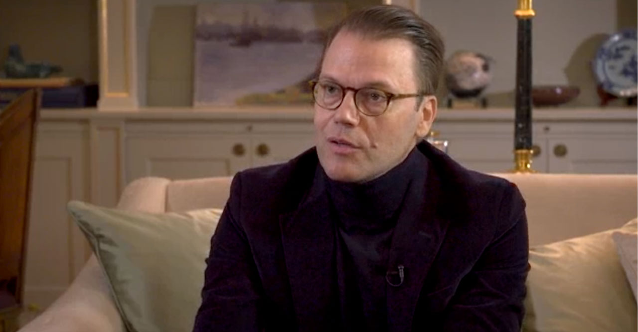 Prins Daniels starka ord i TV4 – berättar om sjukdomen