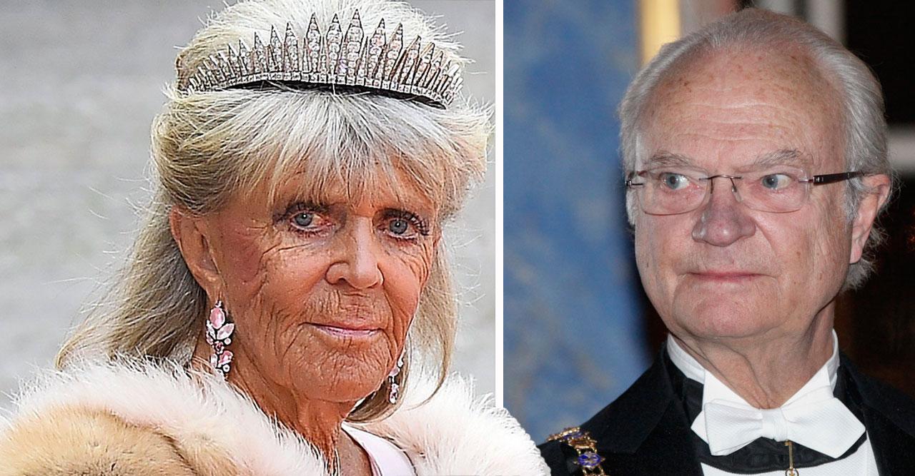 Prinsessan Birgitta om kungens beslut