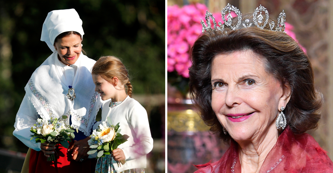 drottning silvias oväntade ord om prinsessan estelle