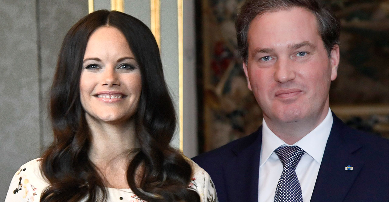 Prinsessan Sofia och Chris O'Neill.