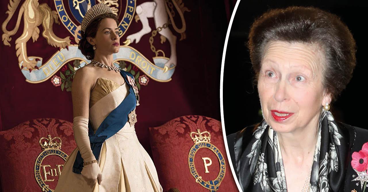 Spekulationerna om prinsessan Anne i The Crown