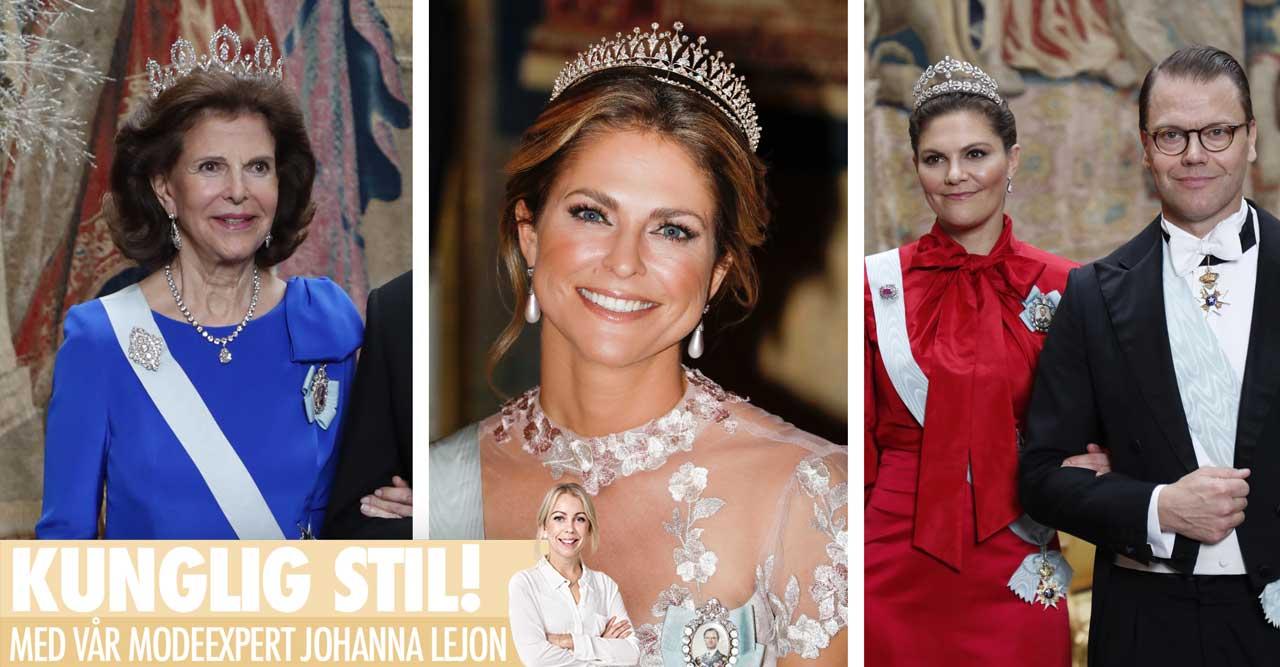 Bäst klädda på kungens Nobelmiddag