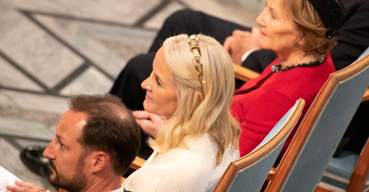 Fredspriset! Haakon och Mette-Marit på Nobel 2019